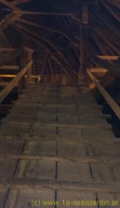 Aufgang zum Dach