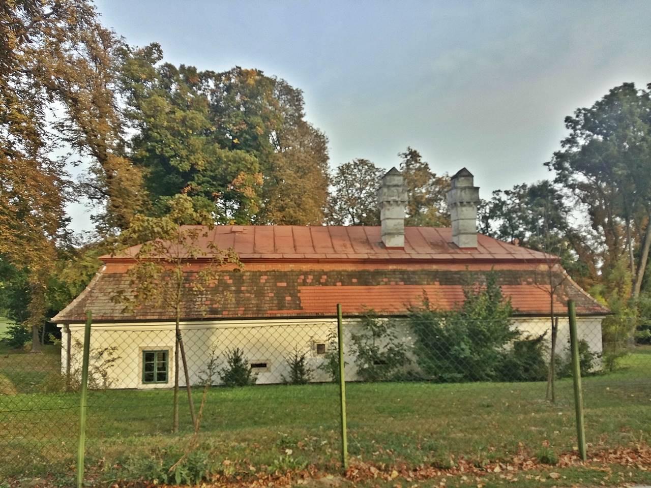 Rückseite Gärtnerhaus