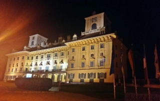 Schloss Esterházy by night