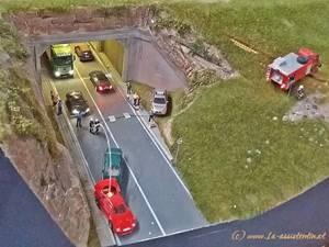 Unfall beim Tunnel